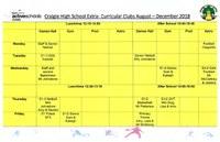 Active Schools Activities