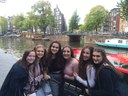 Anne Frank Ambassadors visit Amsterdam