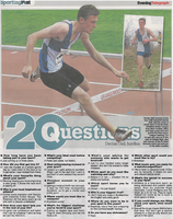 Athlete Declan Gall in 20 questions