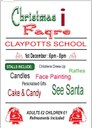 Christmas Fayre at Claypotts School