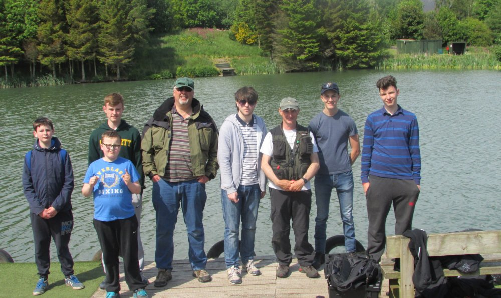 Craigie High Fly Fishing Club visit Kingennie