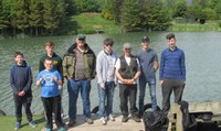Craigie High Fly Fishing Club visit Kingennie