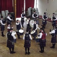 Craigie Hosts Pipe Band Competition