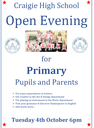 Craigie Open Evening