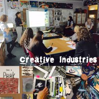 Creative Industries visit