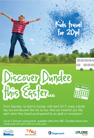 Kids travel for 20p this Easter