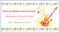 Music & Drama Summer Review - Tickets now on sale