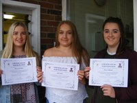 Pupils 'Major Incident' success