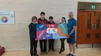 Skillforce pupils present murals