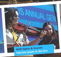 Talented pupils to the fore