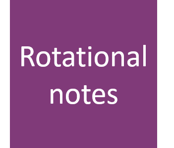 AH Rotational motion notes